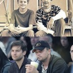 Leonardo DiCaprio & Tobey Maguire