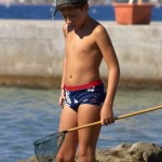 speedo fishing boy