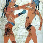Boxing Boys Fresco