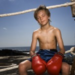 Boxer boy poses 001