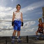 Boxer boy poses 002