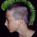 Green Mohawk Kid