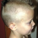 kid with mohawk