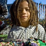 young boy with dreadlocks