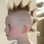 Boy with Liberty Spike Mohawk