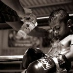 Nice pic of kid boxer in corner