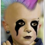 Photoshop kid with mohawk