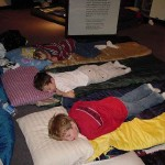 Boys Sleeping On Mats