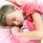 Boy Sleeping Red Shirt