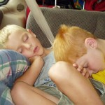 Ginger Boy Sleeping With Blonde Boy