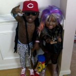 Funny Halloween Costumes - Boy Dressed As Mini Thug