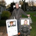 Funny Halloween Costumes - Boys Dressed Up As iPods