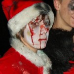 boy as creepy santa