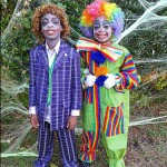 Kids In Clown Costumes