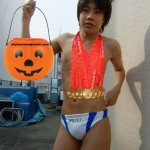 Funny Halloween Costumes - Boy Speedos Gold Medals