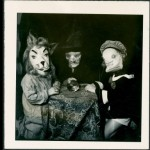 Kids In Costumes - Vintage Halloween