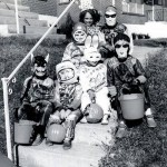 Kids Dressed Up For Halloween - Vintage Halloween Costumes