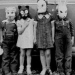 Kids In Halloween Costumes - Vintage Photo