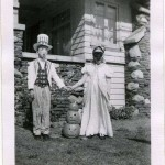 Boy Dressed Up As Uncle Sam - Vintage Photo