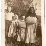 Kids in Halloween Costumes - Vintage