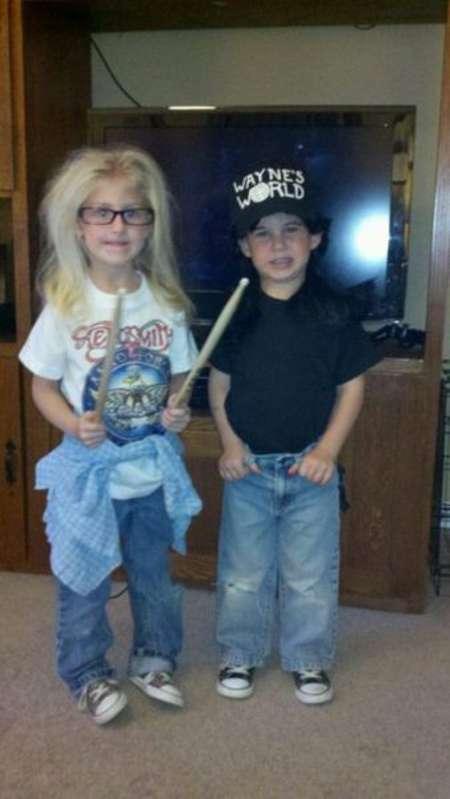 Kids Halloween Costumes - Wayne's World