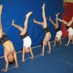 Boys Doing Handstands