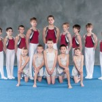 Gymnasts Group Shot