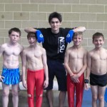 Gymnasts Boys Group Shot