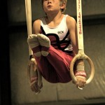 Young Boy On Rings