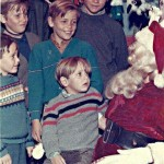 Boy Scared Of Santa Claus?
