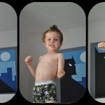 Wanna Wrestle Kid Poses