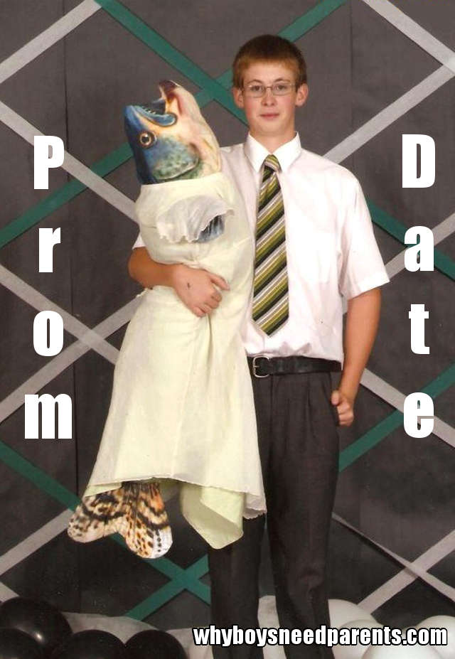 Fish With Boy - Prom Date