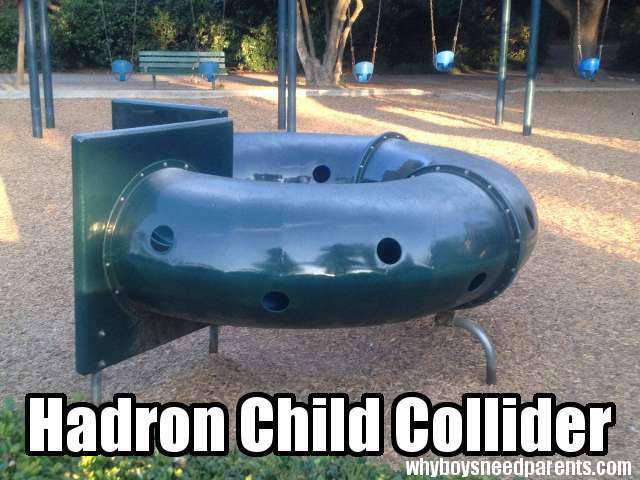 Hadron Child Collider
