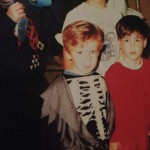 Adam Lanza Wearing Halloween Costume