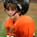 Boy Football Helmet