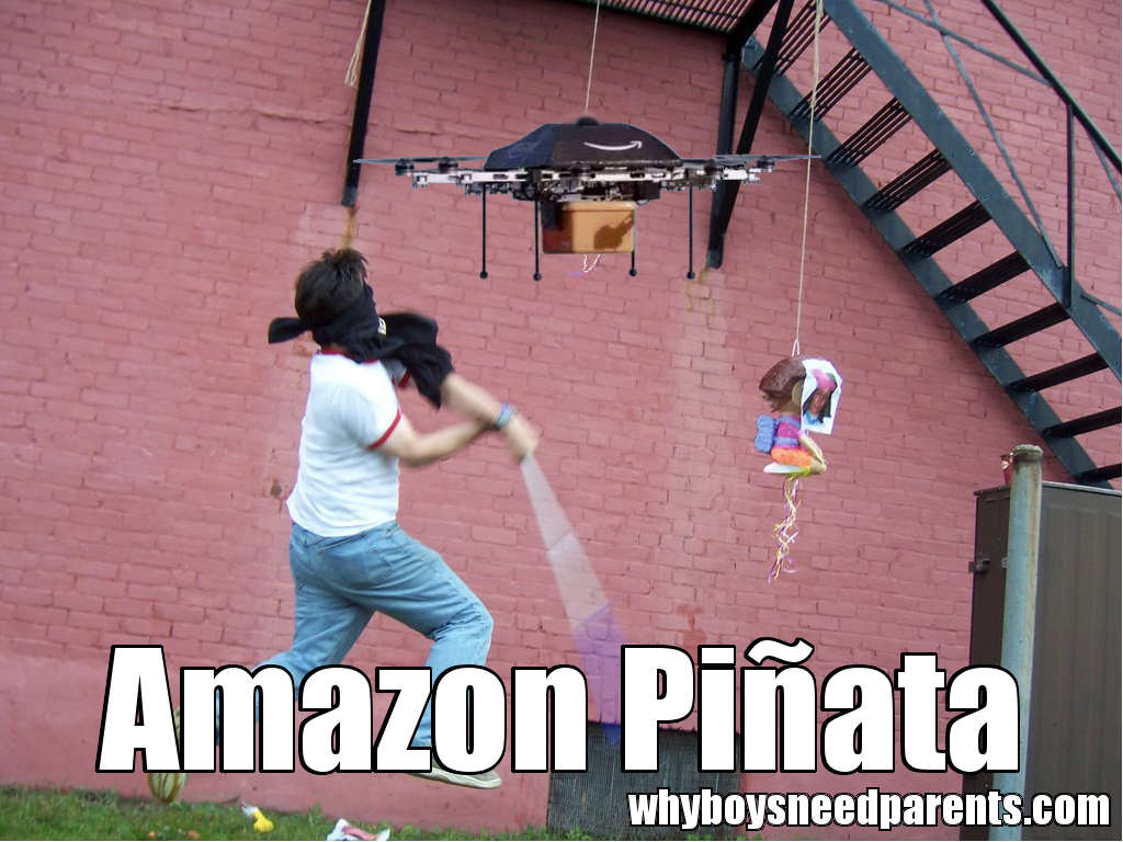 Amazon Drone Piñata