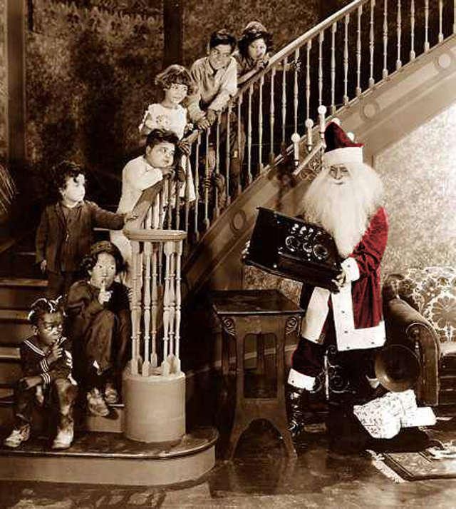 Our Gang Christmas Photo