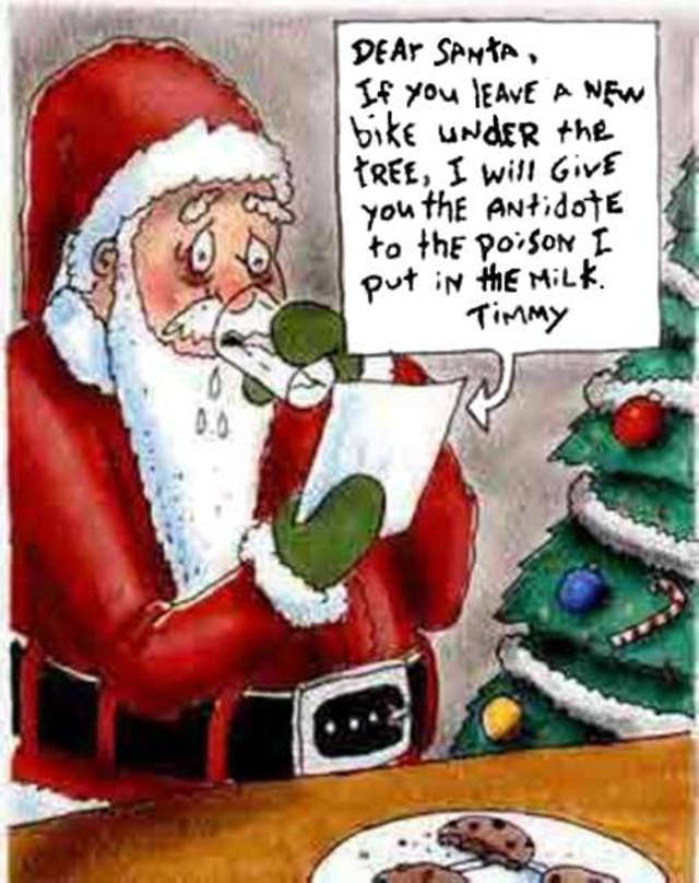 Timmy Poisoned Santa