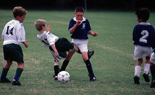 This Is Soccer - Not Kick Ball