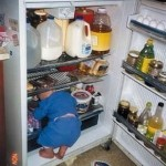 Boy In Refrigerator
