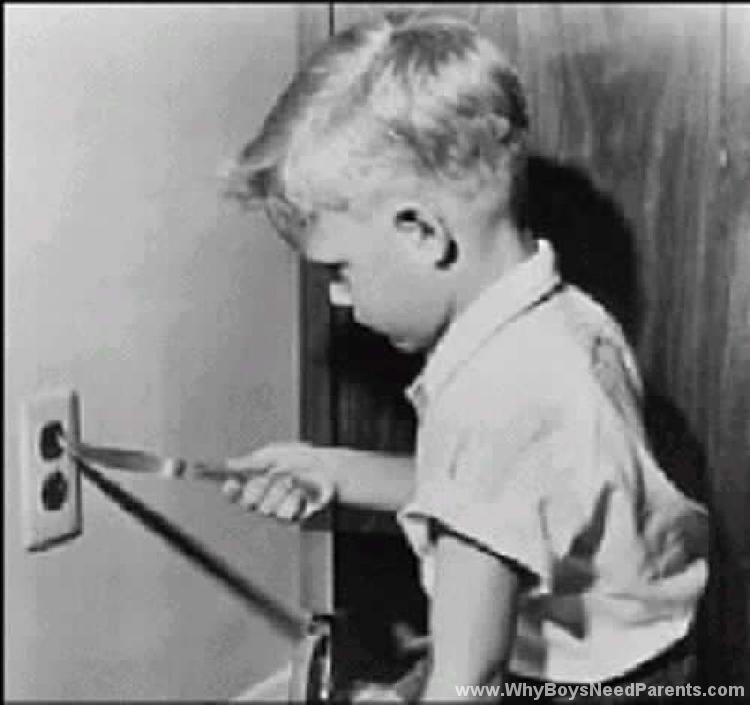 Boy Knife Electric Socket