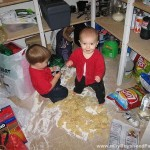 Boys Make Giant Mess