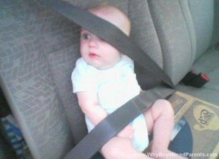 Wrong Use Of Seatbelt