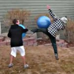 Exercise Ball Jousting