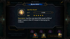 Deck Heroes Runes - Sacrifice RuneV